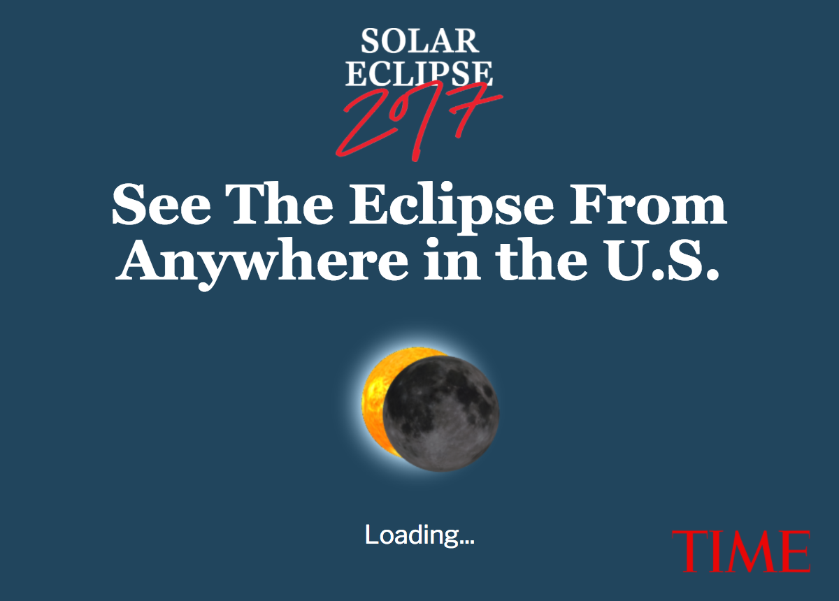 See How the Solar Eclipse Will Look From Anywhere in the U.S.