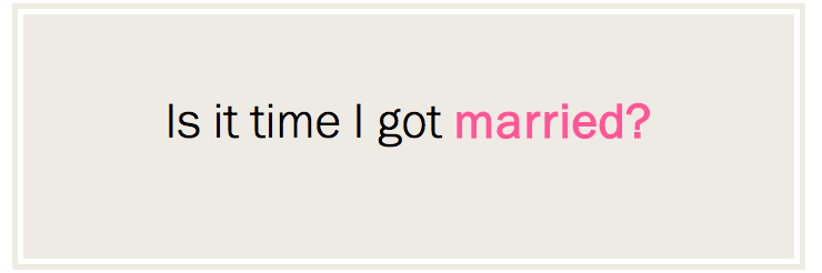 Marriage Date: Can Facebook Tell When You Should Get Married