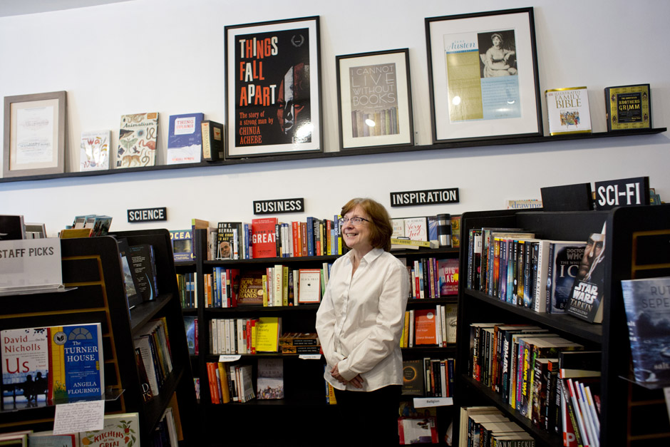 Susan Murphy received support from TechTown to open Pages Bookshop, in May 2015.