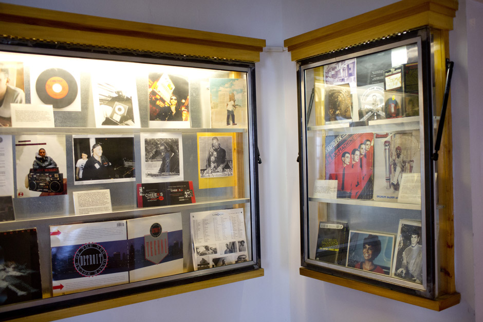 Underground Resistance also houses a museum of techno history and memorabilia.