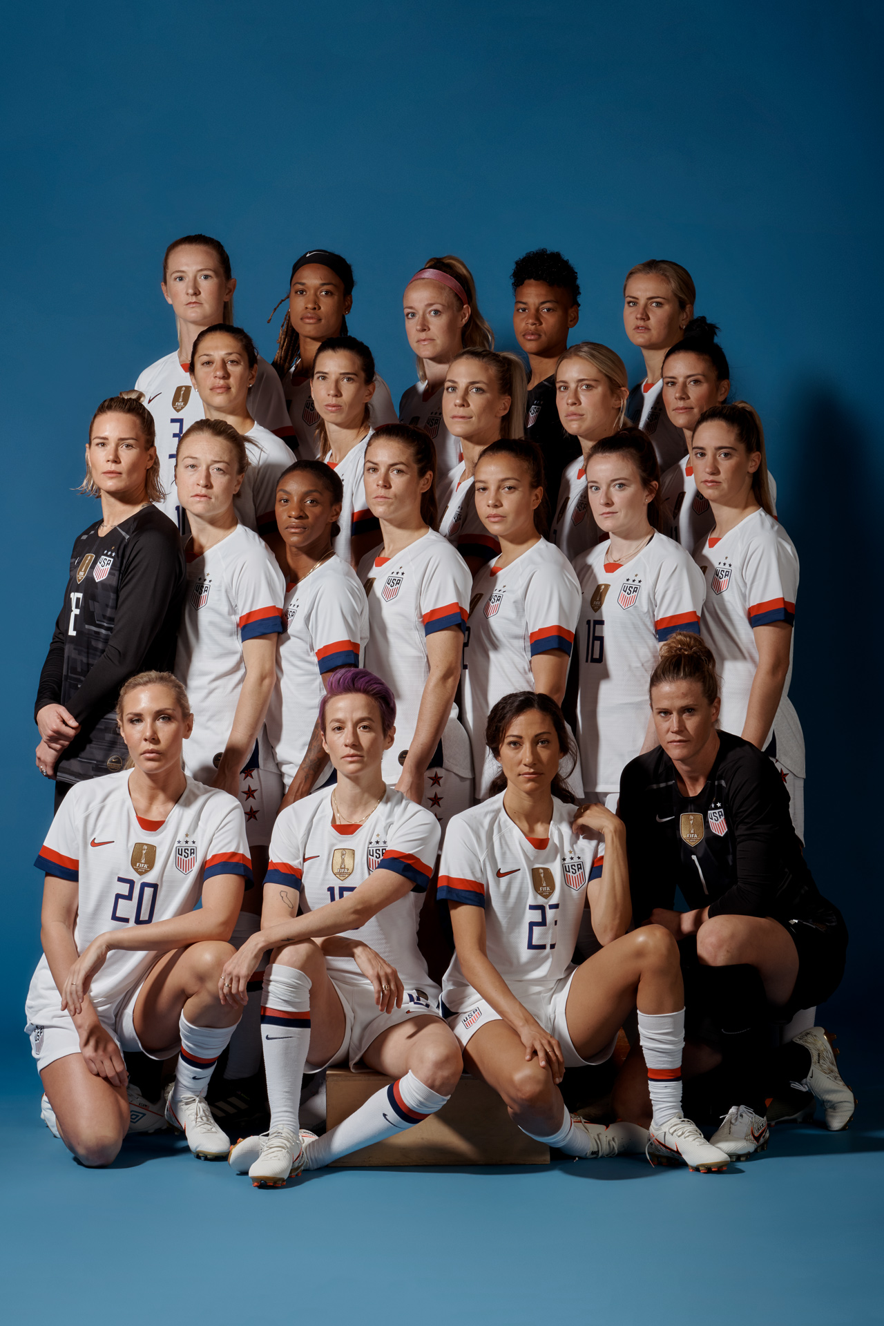U S Women S Soccer Team Time S Athlete Of The Year 2019 Time